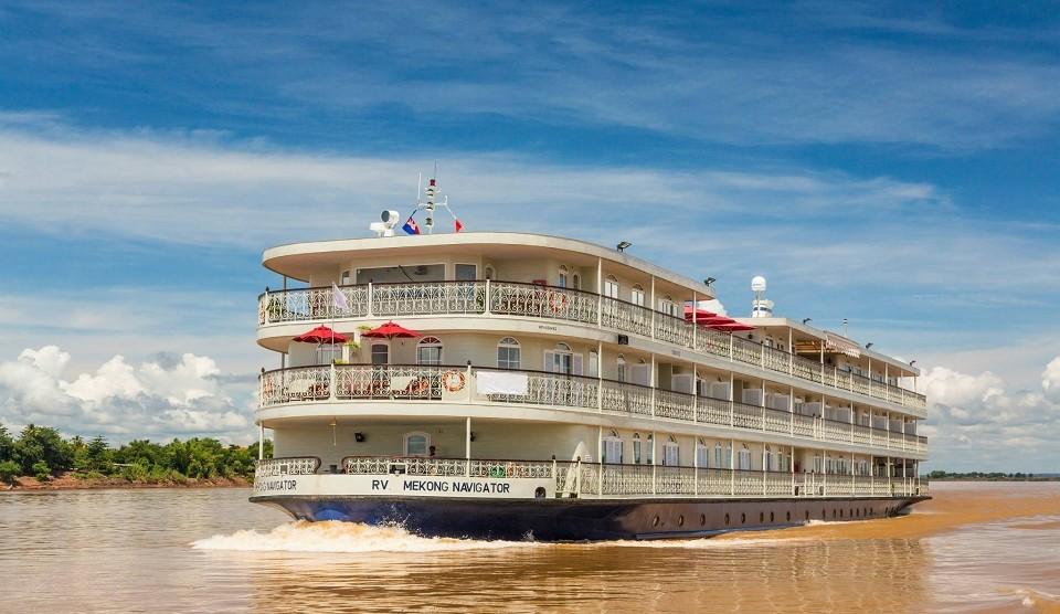 Mekong Flussfahrt