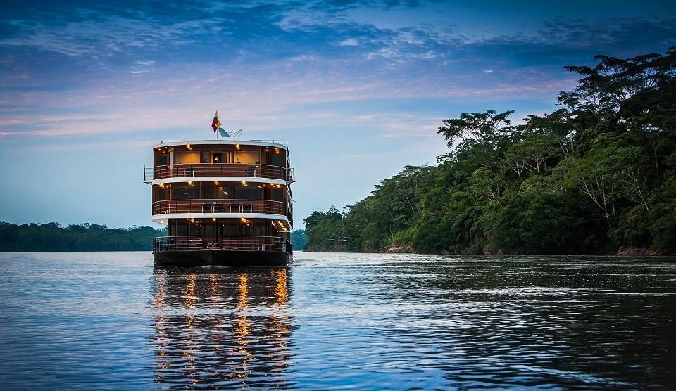 Borneo Flussfahrt