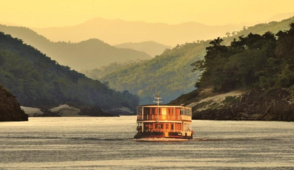 Laos Flussfahrt