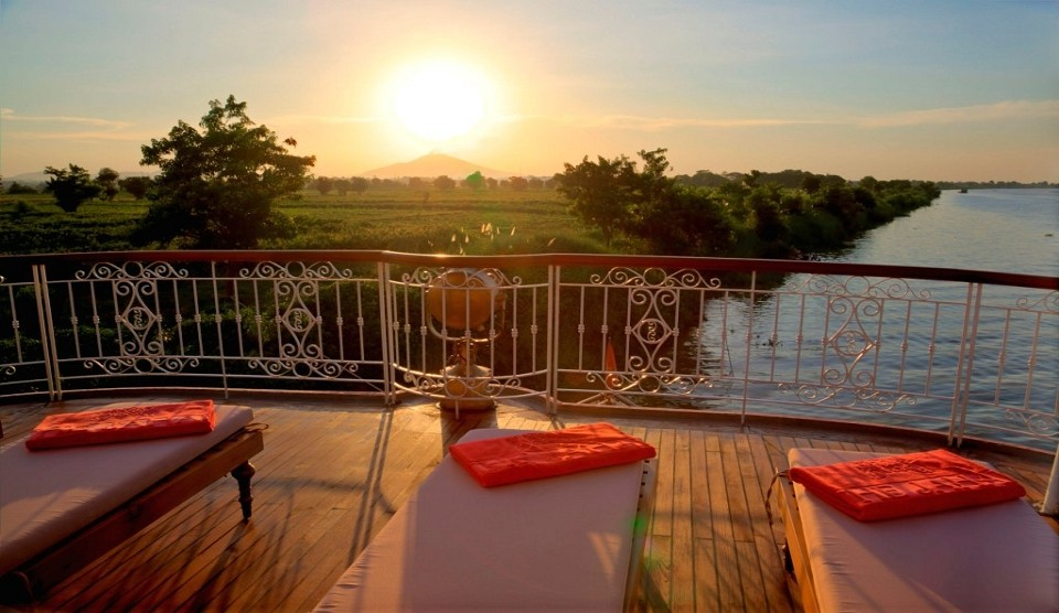Irrawaddy Flussfahrt