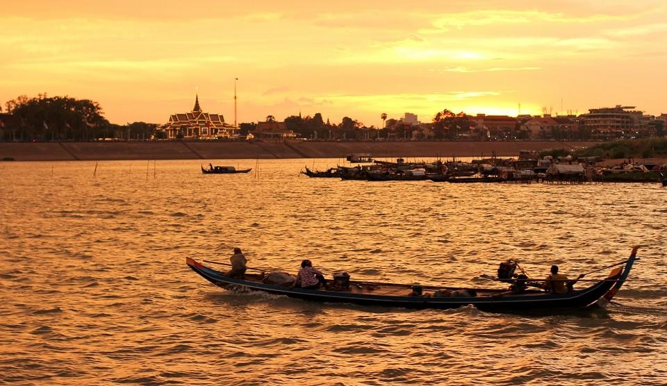 Phnom Penh Flussfahrt