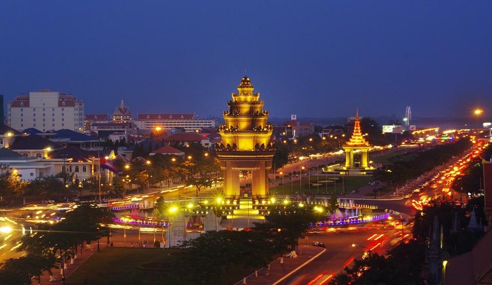 Phom Phen Reise