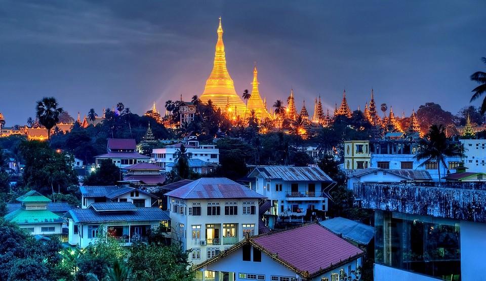 Yangon Reise