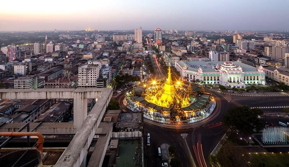 Yangon Rundreisen