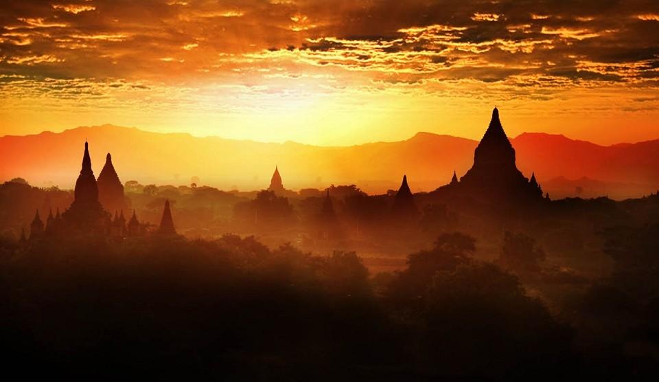 Bagan Ballonfahrt