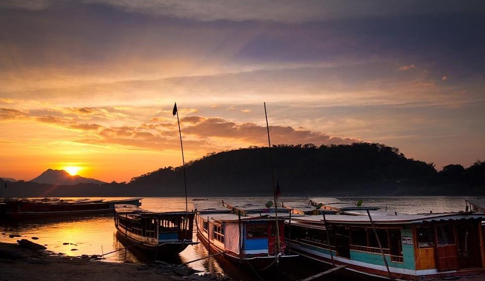 Luang Prabang Flussfahrt
