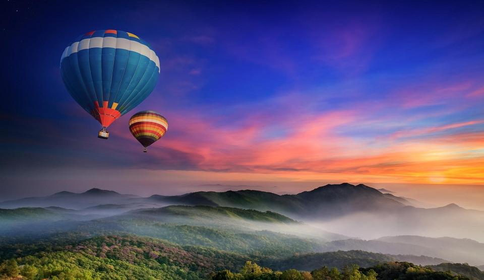 Die Bergregion von Mae Hong Son
