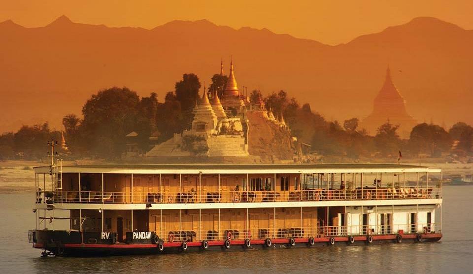Irrawaddy Kreuzfahrt RV Pandaw