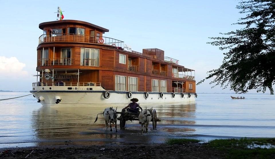 Irrawaddy Kurzreise Paukan 2012