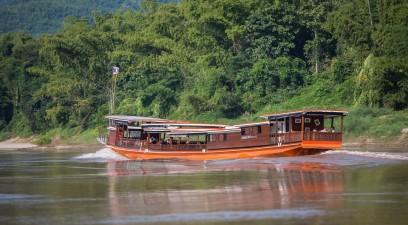 Nordlaos Flussfahrt Luang Say